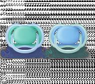 PHILIPS AVENT silikoninis čiulptukas ULTRA AIR, 6-18 mėn., SCF244/22 1/846