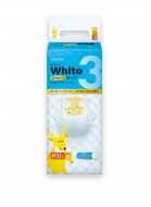 WHITO diapers M 6-11 kg 3h 52 pcs. 4901121527604