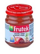 FRUTEK obuolių, vynuogių ir vyšnių tyrelė 4m+ 120g 3838945502993