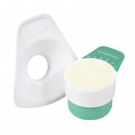 CLEVAMAMA pieno miltelių matavimo kaušelis 3002 3002
