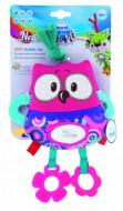 CANPOL BABIES pakabinamas žaislas Pelėda, 68/042 pink owl 68/042_pin