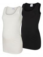 MAMALICIOUS marškinėliai Black 20006297 20006297