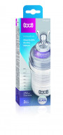 LOVI stiklinis buteliukas 250 ml Diamond Glass Pure 74/200 74/200