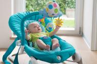CHICCO bouncing chair Ballon Bouncer Light Blue