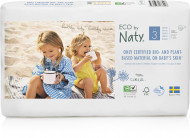 Eco by NATY sauskelnės 3 dydis 4-9kg 50 vnt. 8178426