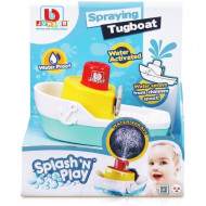 BB JUNIOR vonios žaislas Splash 'N Play Spraying Tugboat, 16-89003 16-89003