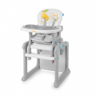 BABY DESIGN high chair Candy 07 Gray 5901750299285