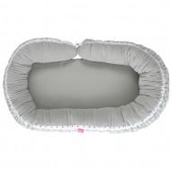 MOTHERHOOD 2in1: jaukus kūdikio miegas + mamos pagalvė Mint Boats 054/157 054/157