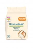 AQUA WIPES drėgnos servetėlės 4x64 vnt. AQW64F4B AQW64F4B