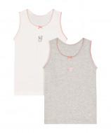 MOTHERCARE apatiniai marškinėliai merg. 2vnt. Girl TD259 336856