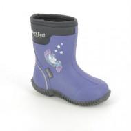 DOCK BOOT Neperšlampami neopreno batai Elita Blue/Multi 88-4186 22 88-4186