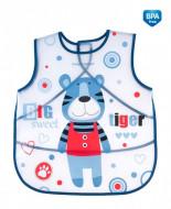 CANPOL BABIES soft waterproof apron Puppets, blue, 9/236_blu 9/236_blu