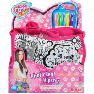 SIMBA COLOR ME MINE spalvinamas krepšys Photo Real Hipster, 106371195026 106371195026