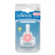 DR.BROWNS žindukai silikoniniai neišnešiotiems kūdikiams 2 vnt. 292-INTL 292-INTL