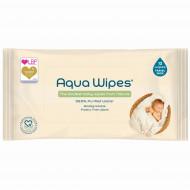 AQUA WIPES drėgnos servetėlės 12 vnt. AQW12F12P AQW64F12P