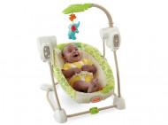 BABY GEAR gultukas-supynės Rainforest Friends, BGM57 BGM57