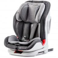 KINDERKRAFT automobilinė kėdutė ONETO3 su ISOFIX black/gray KKFONE3BLGR000