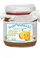 MARMALUZI fruit puree 125g 6m+ 4779034140292