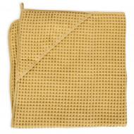 CEBA rankšluostis 100x100cm Waffle Line Cream Gold W-815-303-171