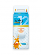 WHITO diapers M 6-11 kg 12h 48 pcs. 4901121527703