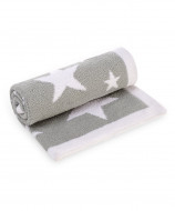 MOTHERCARE pledas 70x90cm Grey Star 808999 808999