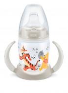 NUK mokomasis buteliukas su rankenėlėmis ir silikoniniu snapeliu 150ml 6-18m Disney SK68 SK68