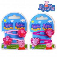 Plaukų segtukai Peppa Pig 2 vnt., asort, 300315 300315