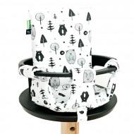 FROC paminkštinimas maitinimo kėdutei Forest White/Brown C3