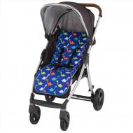 CUDDLECO vežimėlio įdėklas/paminkštinimas Dinosaurs CC842834 CC842834
