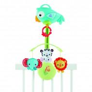 FISHER PRICE muzikinė karuselė Atogrąžų miškų draugai, CHR11 CHR11