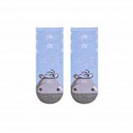 STEVEN Socks Hippo Grey 138-143 17-19 138-143