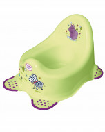"""KEEEPER Baby potty """"Hippo"""" lime 8648-016 8648-016"""