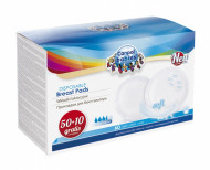 CANPOL BABIES breast pads disposable anti-slip 60vnt. 1/652 1/652