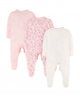 MOTHERCARE all in one girl 3pack Mummy & Daddy SB110 484490