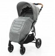 VALCO BABY kojų užklotas Snap 4 Trend / Grey Marle 9915 9915