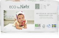 Eco by NATY diapers 2 Mini dydis, 33pcs 8178365