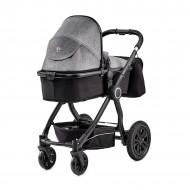 KINDERKRAFT vežimėlis 3in1 VEO black/grey KKWVEOBLGR3000