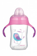 CANPOL BABIES training cup with silicone spout Birds, 300ml, 56/519 56/519