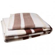 JOLLEIN blanket Stripes Brown 75x100 cm 514-511-64736
