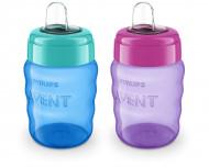 PHILIPS AVENT neišsiliejantis buteliukas su silikoniniu snapeliu CLASSIC, 260 ml, SCF553/00 1/254