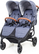 VALCO BABY vežimėlis SNAP DUO TREND, denim 9872