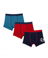 MOTHERCARE trunks boy 3pack Football TC824 374969
