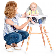 KINDERKRAFT high chair FINI black KKKFINIBLK0000