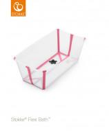 STOKKE vonelė Flexi Bath - Bath and Play Transparent Pink 553502 553502