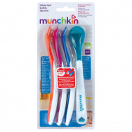 MUNCHKIN 4 Hot Safety Spoons Hot Safety Spoons 4m+ 011522 011522