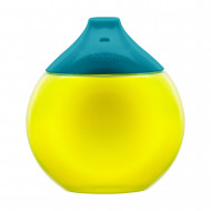 BOON sippy cup 300ml 9m+ Teal/Yellow B11059 B11059