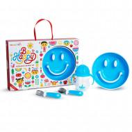 MUNCHKIN dovanų rinkinys 4 vnt. Be Happy Blue 051873, Pink 051874 051873/051874