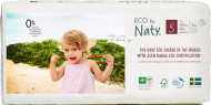 Eco by NATY diapers-pants 5 Junior dydis, 34pcs 244169