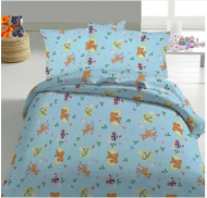 LORITA bedding set 3 pcs. Blue 601-95 601-95