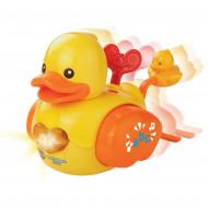 VTECH vonios žaislas Besipliuškenanti antytė, 80-151603 80-151603